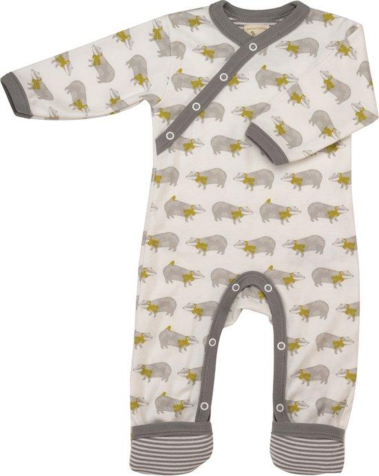 pyjama romper met dasjes