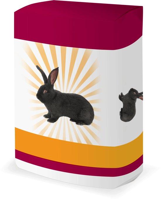 Gemengd konijnenvoer met natuurlijke kleuren 20kg