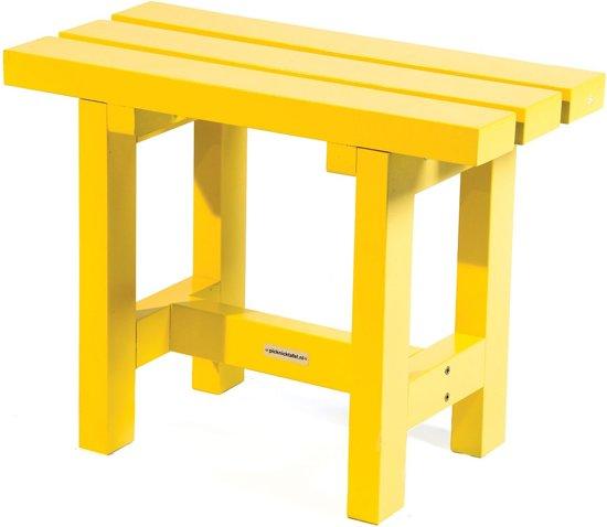 MaximaVida krukje en bijzettafel geel 60 cm