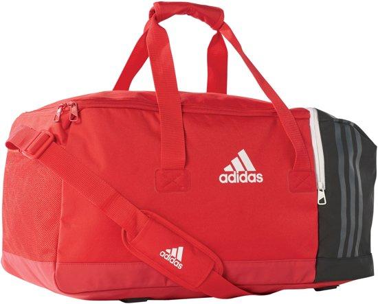 d4a1465552d bol.com | adidas SporttasKinderen en volwassenen - rood/zwart/wit