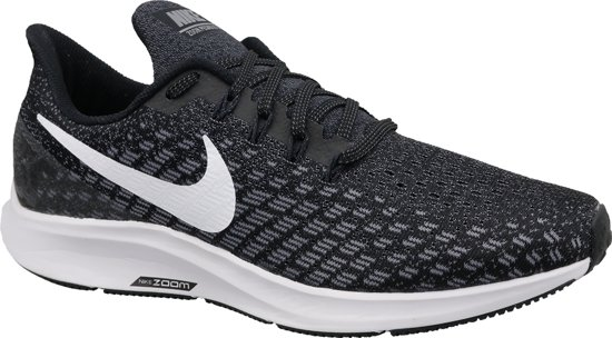 Nike Air Zoom Pegasus 35 Sportschoenen Heren - Black/White-Gunsmoke-Oil Grey - Maat 47