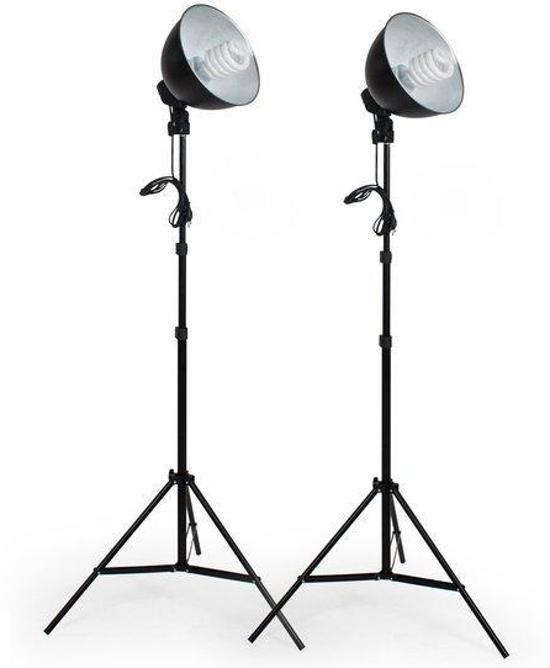 Verwonderend bol.com   tectake studiolampen - 2x studiolamp - fotolamp WO-73