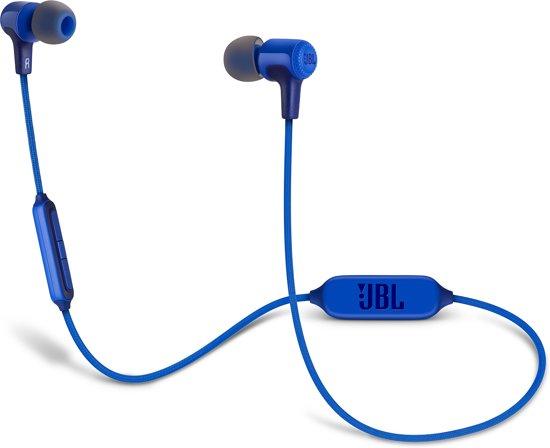 JBL E25BT - Draadloze in-ear oordopjes - Blauw
