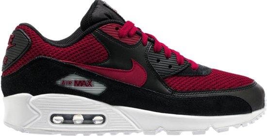 air max 90 zwart rood