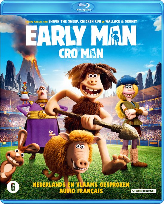 DVD cover van Early Man (Blu-ray)