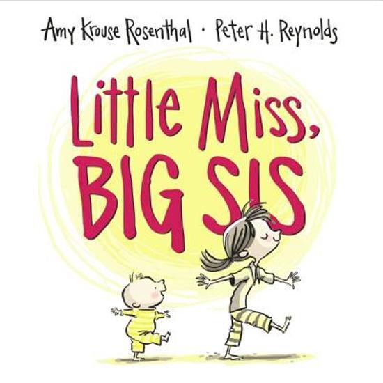 Boek cover Little Miss, Big Sis van Amy Krouse Rosenthal (Hardcover)