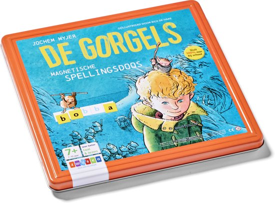Boek cover De Gorgels - Magnetische spellingsdoos van Jochem Myjer (Onbekend)