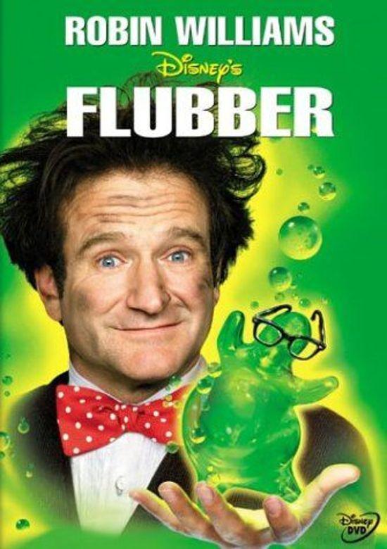 DVD cover van Flubber