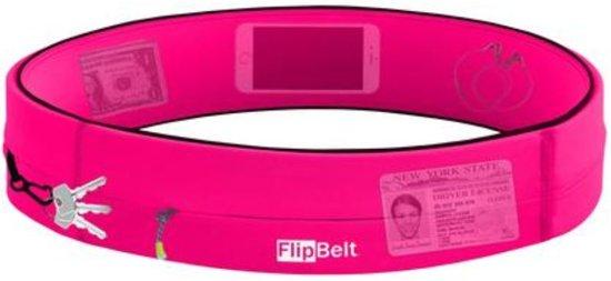 Flipbelt - Zipper - Running belt - Hardloop belt - Hardloop riem - Roze - S