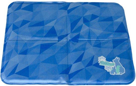H.A.C. - Cool Dog Koelmat 24/7 - 90 x 60 cm - L - Blauw
