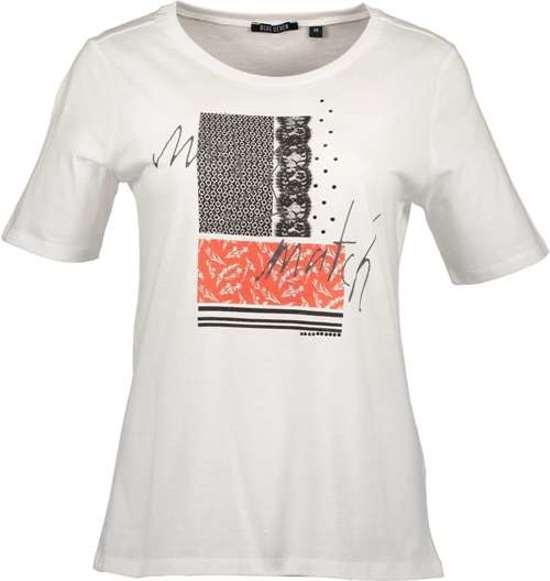 Shirt Wit Dames Seven print Maat 42 Blue 4wv7qAg