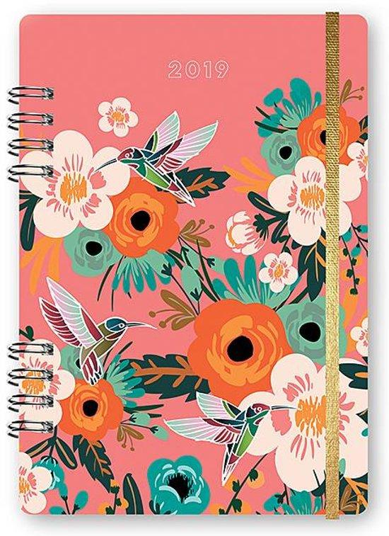 Hummingbirds & Blooms 2019 Planner