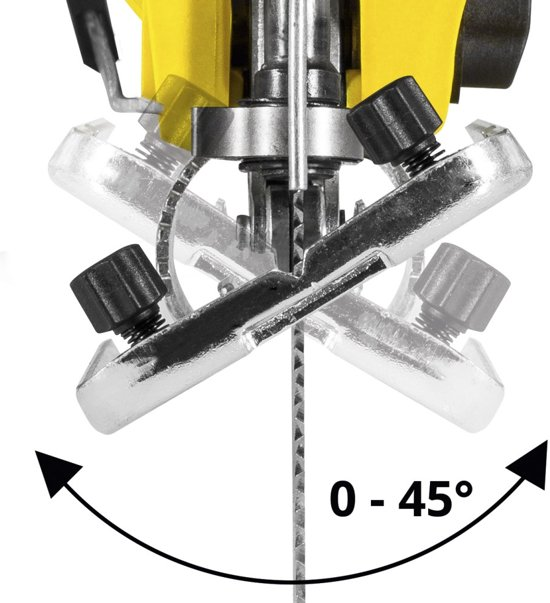 Trotec decoupzaag PJSS 11-230V & kwaliteits verlengsnoer 15 m / 230 V / 1,5 mm²