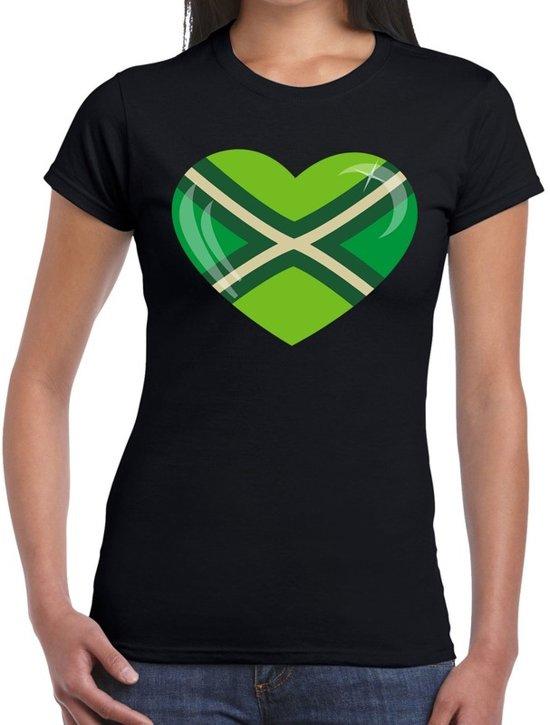 I love Achterhoek t-shirt zwart voor dames - Festival kleding XL