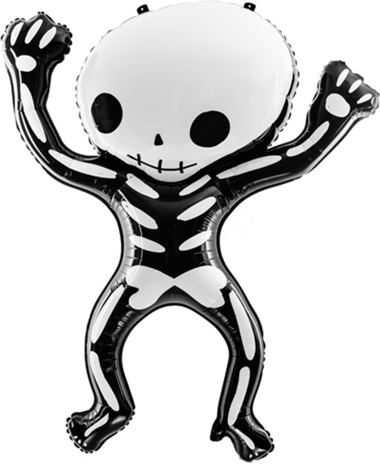 Halloween Helium Ballon Skelet 100x84cm