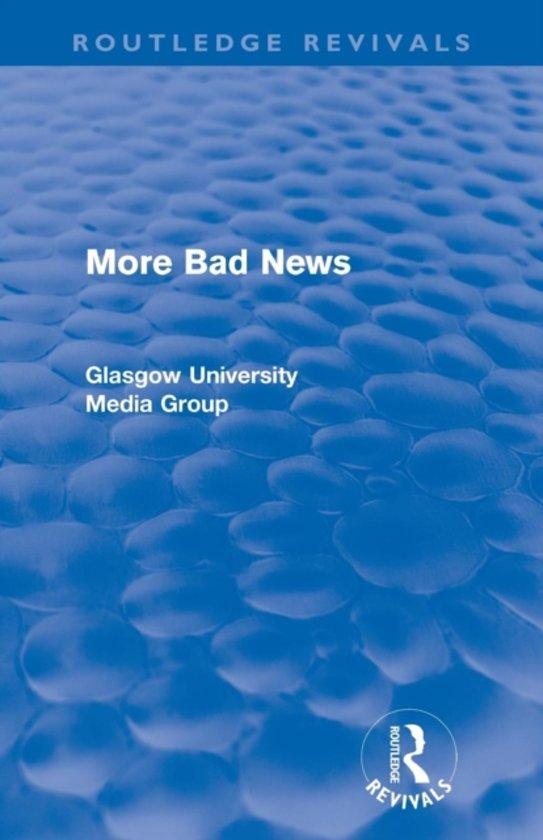 More Bad News