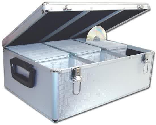 Cd dvd koffer dj case voor het opbergen van for Boeken opbergsysteem