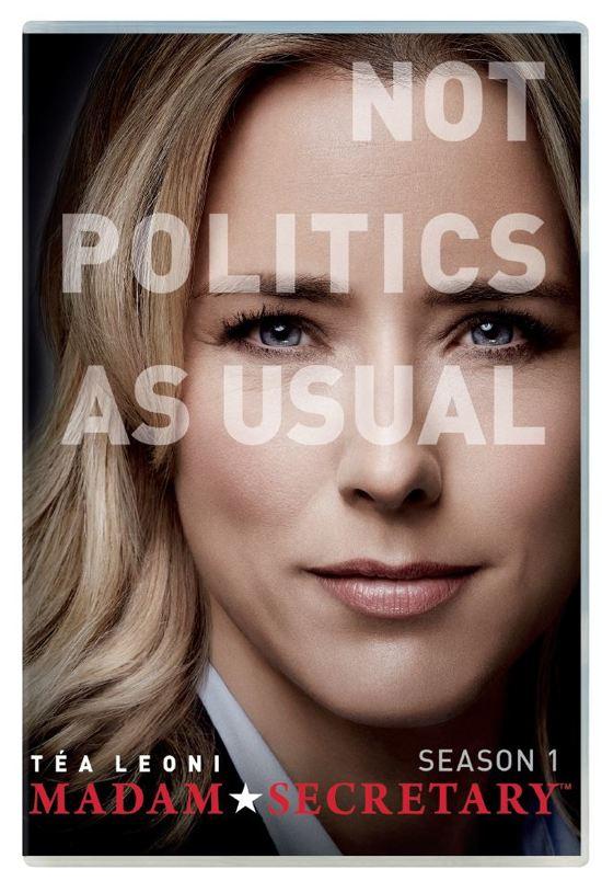 DVD cover van Madam Secretary - Seizoen 1
