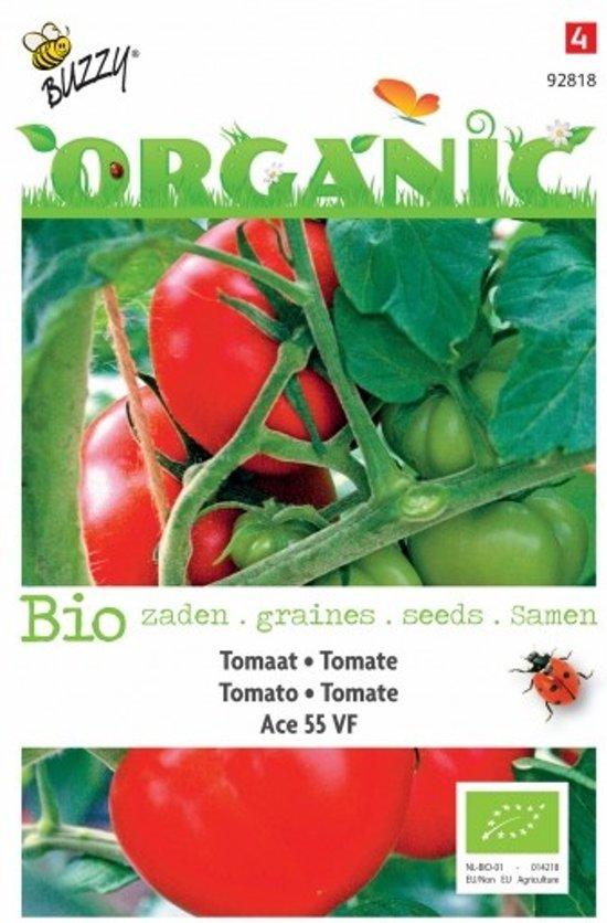 Tomaten Ace 55VF BIO - set van 9 stuks