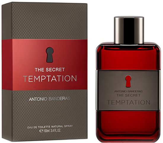 Antonio Banderas The Secret Temptation 100ml EDT Spray