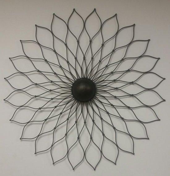 Foto Decoratie Muur.Bol Com Wand Decoratie Muur Decoratie Smeedijzer Zwart