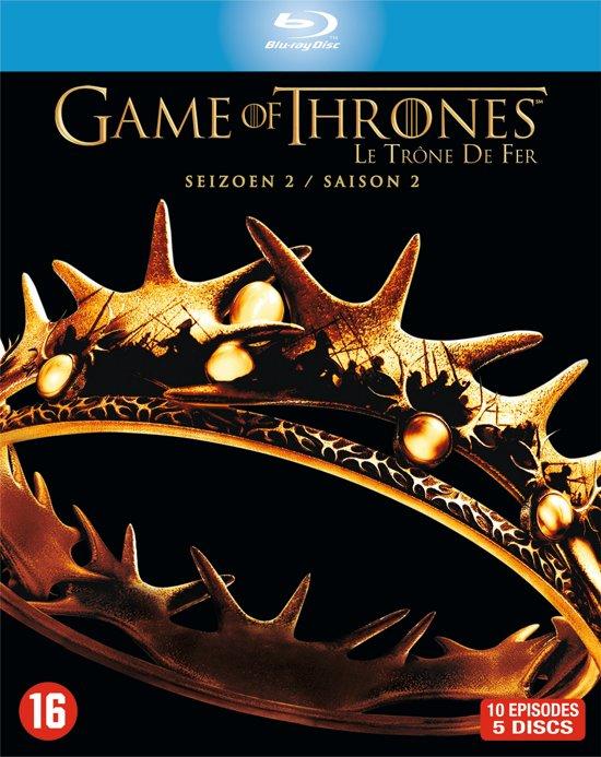 DVD cover van Game Of Thrones - Seizoen 2 (Blu-ray)