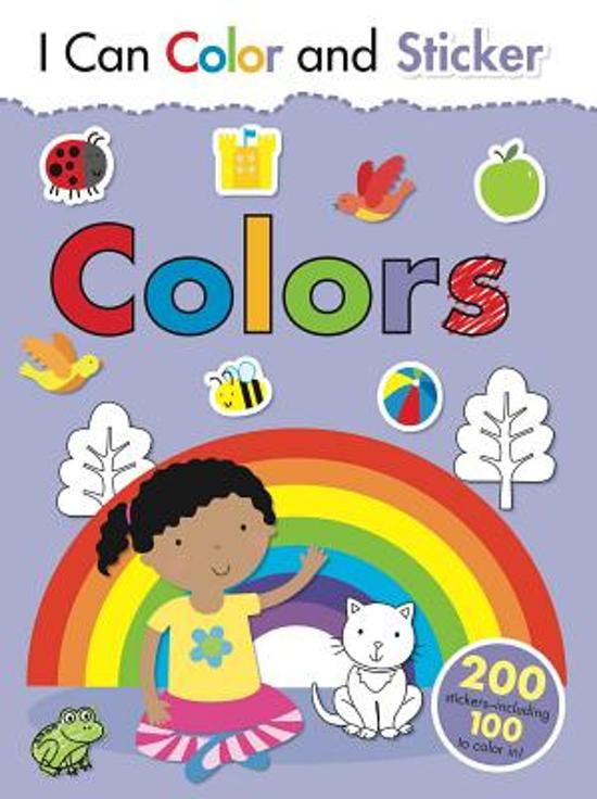 bol.com | I Can Color and Sticker, Gemma Cooper | 9781499800623 | Boeken