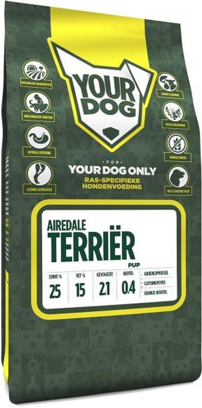 Yourdog airedale terriã?r  hondenvoer pup 3 kg