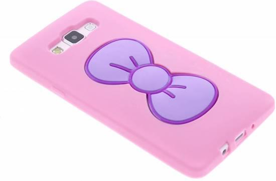 Cas D'arc En Poudre Rose Clic Tpu Silicone Pour Samsung Galaxy A7 ovZt5g