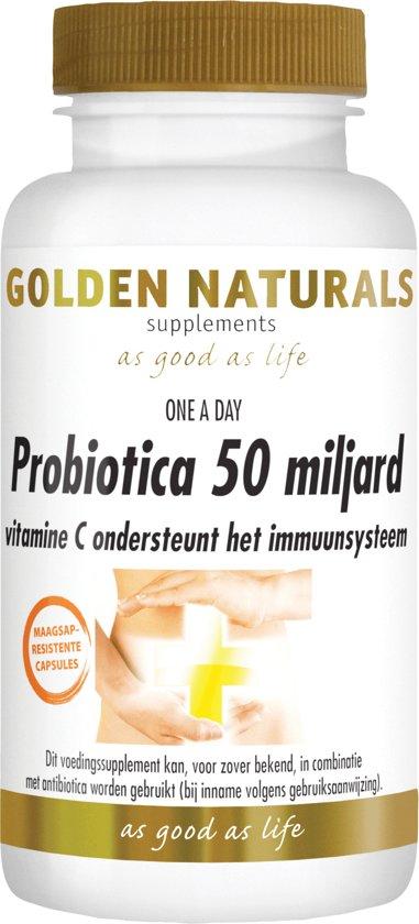 Bolcom Golden Naturals Probiotica 50 Miljard 30 Vegetarische