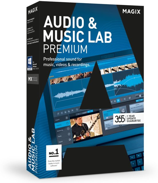 Magix Audio & Music Lab 2017 Premium - Engels / Duits / Windows