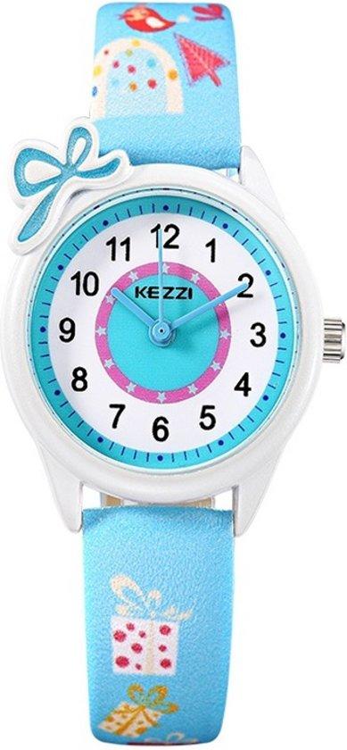 Kinderhorloge Cadeautjes – Horloge Kids – Blauw Bandje