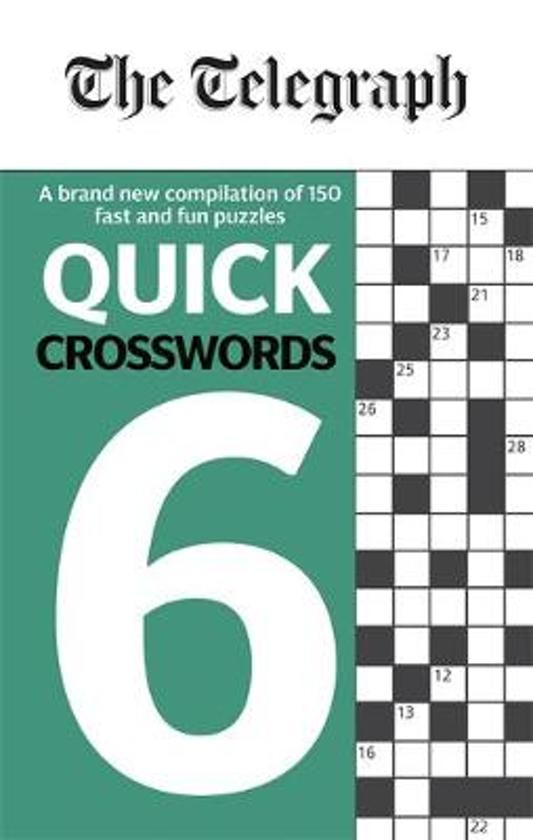 The Telegraph Quick Crosswords 6