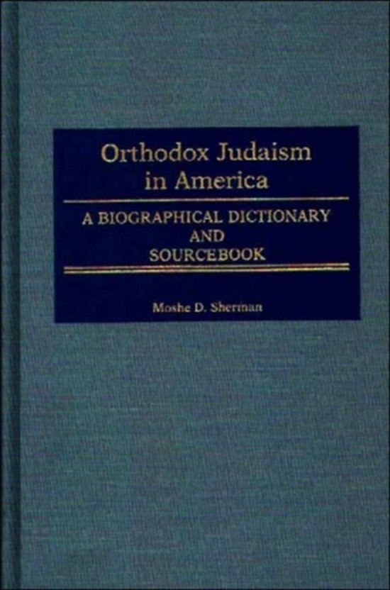 Orthodox Judaism in America
