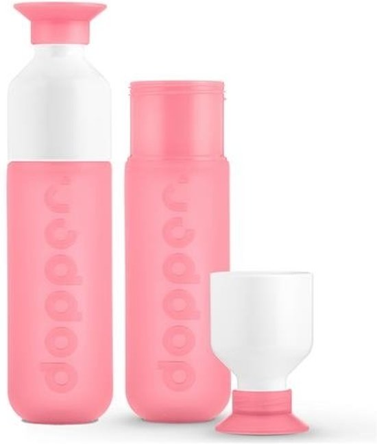 Dopper - duo set 2 kleuren - Pink en Pink