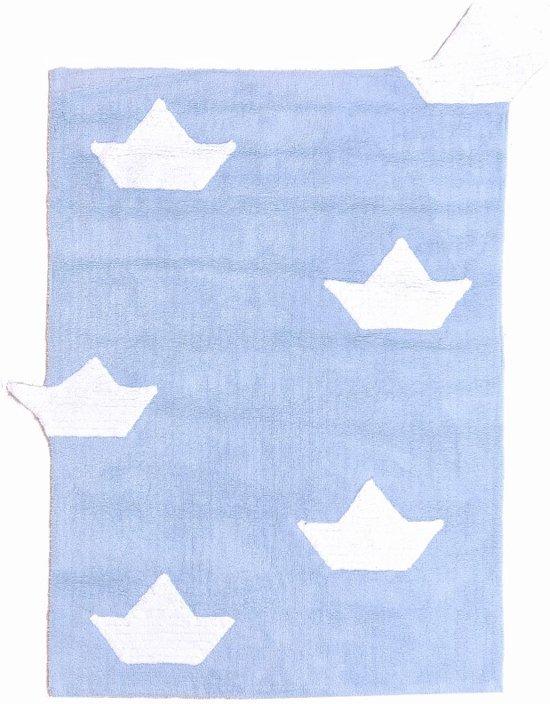 bol | lorena canals tapijt - vloerkleed boten -100% katoenen, Deco ideeën