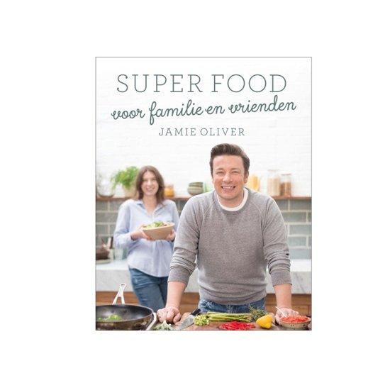 Boek cover Super food voor familie en vrienden van Jamie Oliver (Hardcover)