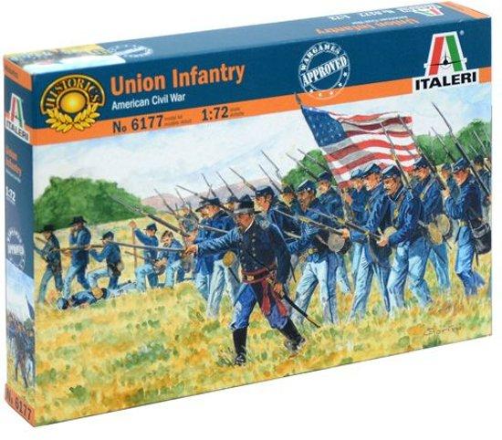 Italeri - Union Infantry American Civil War 1:72 (Ita6177s)