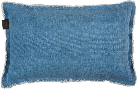 KAAT Amsterdam Amsterdam Sahahra Sierkussen - 30x50 cm - Blauw