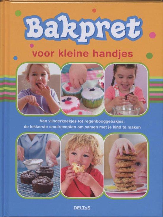 Boek cover Bakpret Voor Kleine Handjes van Becky Johnson (Hardcover)