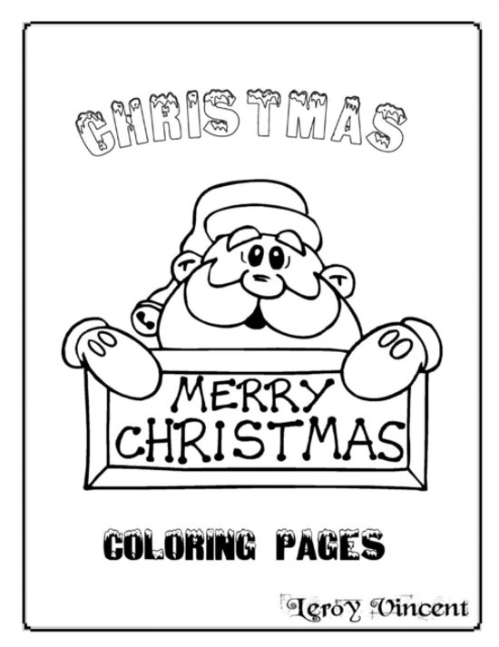 bol.com | Christmas Coloring Pages, Leroy Vincent | 9781684112005 ...