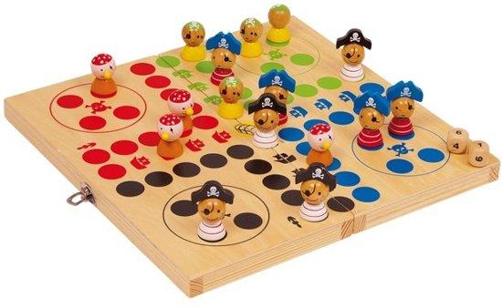 Afbeelding van het spel '''Ludo ''''Pirateneiland'''''''