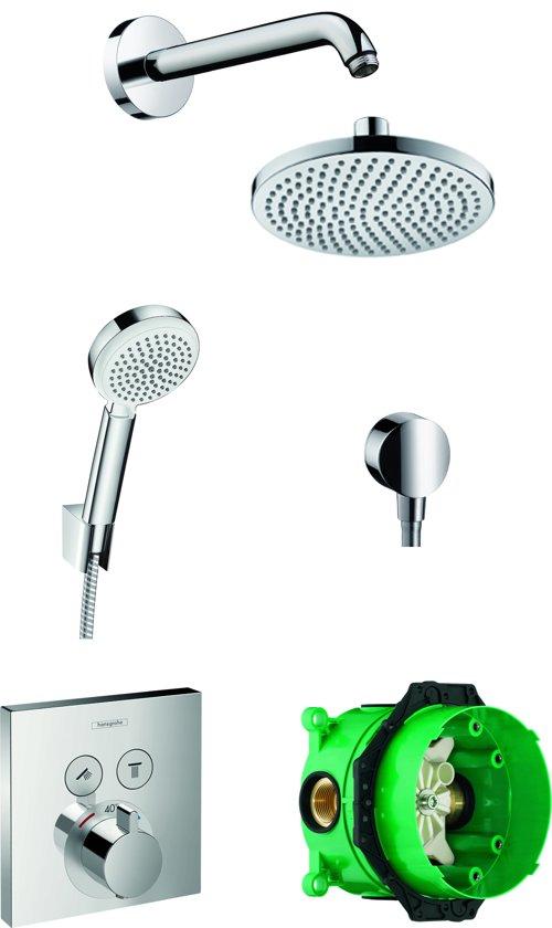 Hansgrohe ShowerSelect E Regendouche inbouwset