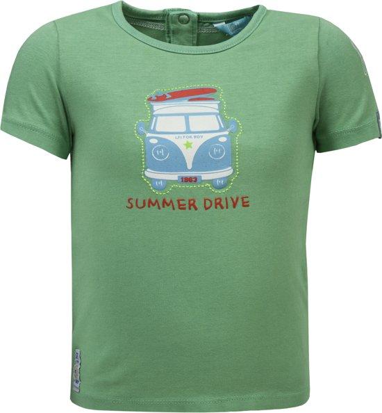 Lief Lifestyle Jongens T Shirt Groen Maat 62