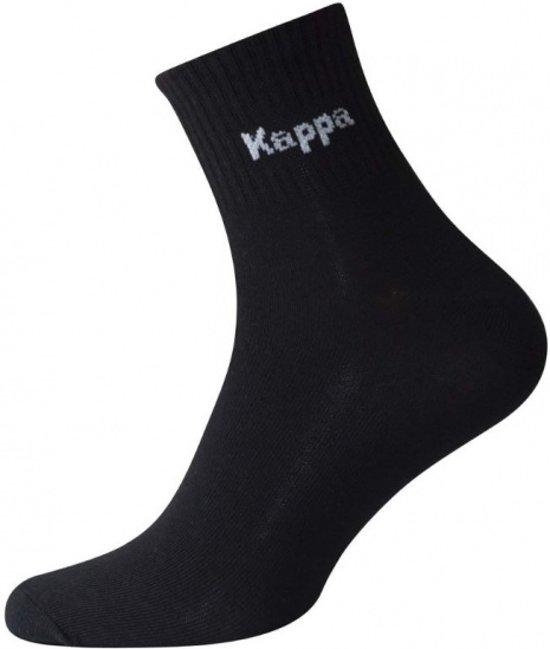 0f337597006 bol.com | Kappa Biker Sokken Heren Zwart Per Drie Paar Maat 43/46