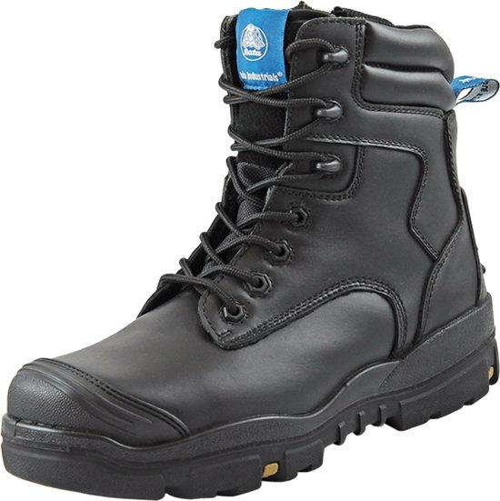 Bata Helix werkschoenen - Longreach Black Zip - S3 - maat XW 42 - hoog - 705-66146