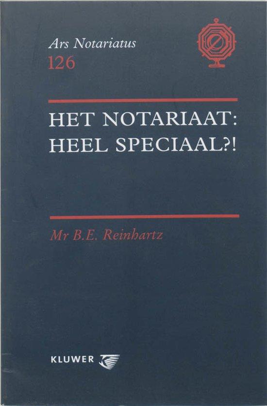 Het notariaat : heel speciaal ?!