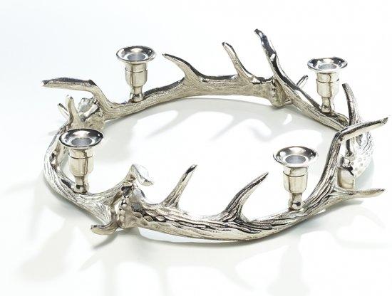 Kandelaar Bol Com.Kandelaar Hert Gewei Aluminium Metaal Thema Dieren Cadeaus Luxe Woon Accessoires