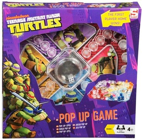 Teenage Mutant Ninja Turtles Pop-up spel Mens Erger je Niet