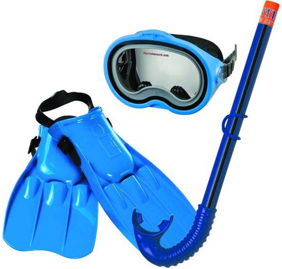 b7532645134b6d bol.com | Intex - Duikbril/Snorkel/Flipper Set - 8+ jaar - Blauw ...